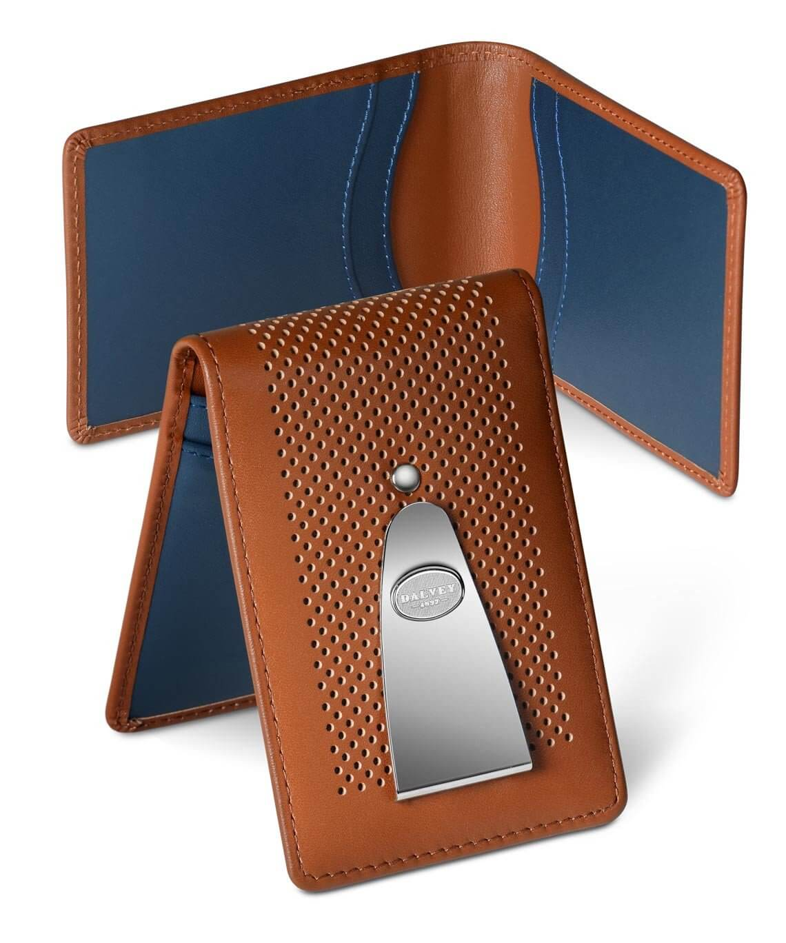 Insignia Wallet - Tan / Blue