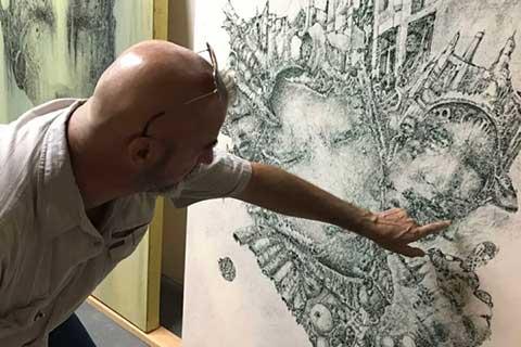 Celio Bordin's Art Exhibition