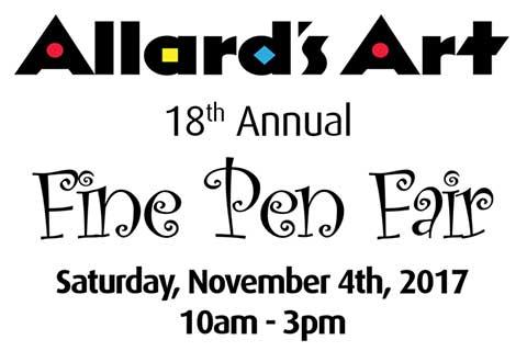 Allard's Fine Pen Fair