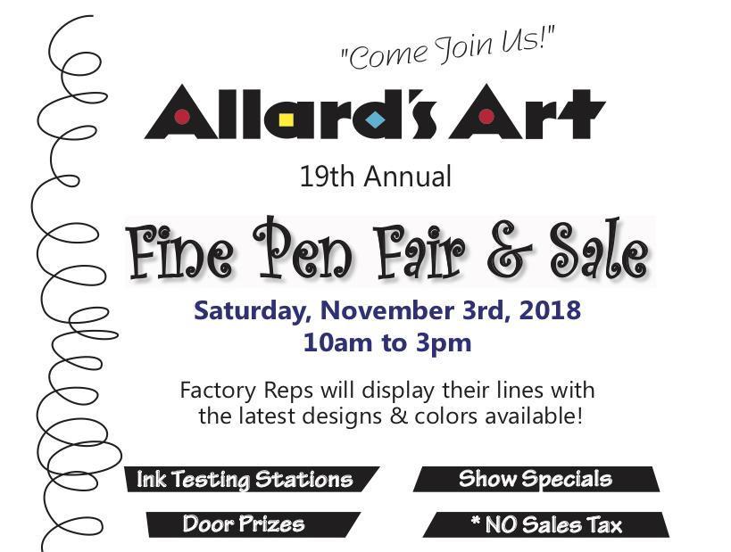 Allard's Art 19th Annual Pen Fair