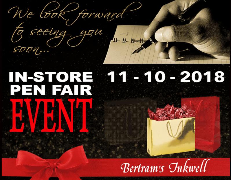 Bertram's Inkwell Annual Pen Fair
