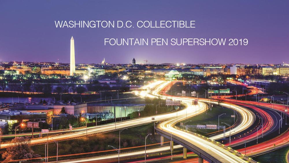 Washington D.C. Collectible Fountain Pen SUPERSHOW 2019