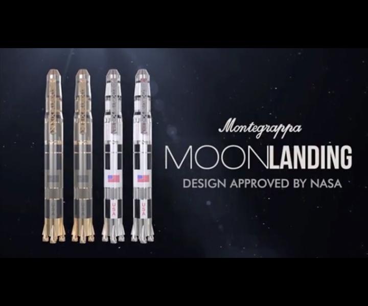 iW Magazine features the Montegrappa Moonlanding Pen