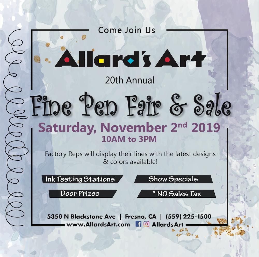 Allard's Art 20th Annual Fine Pen Fair & Sale