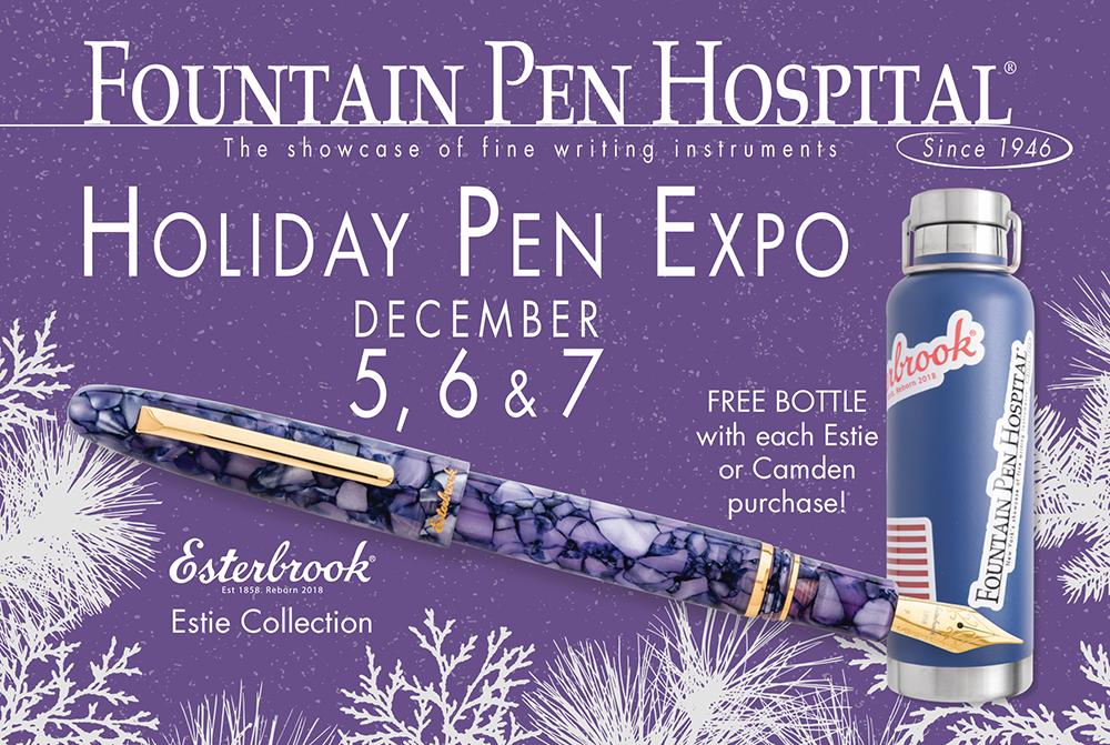 Fountain Pen Hospital Holiday Pen Expo