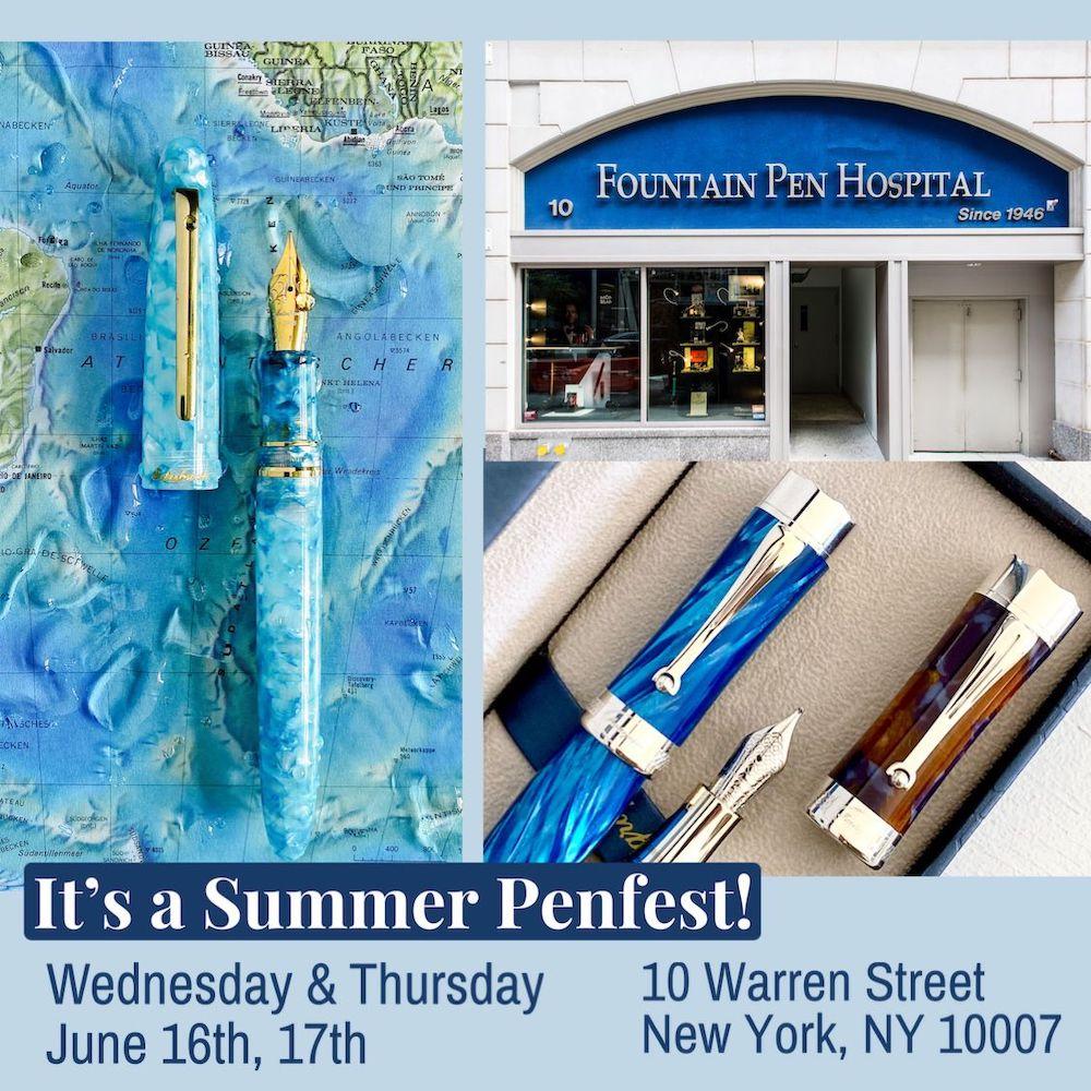 Fountain Pen Hospital Pen Fest 2021